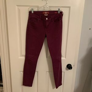 Maroon Lucky Brand Jeans